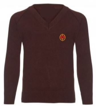 ST DENIS PS KNITTED V-NECK JUMPER