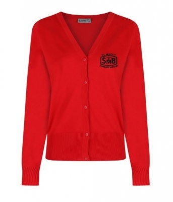 ST MARYS PRIMARY KNITTED CARDIGAN