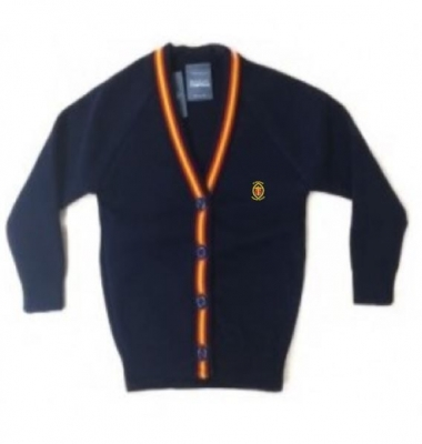 ST MICHAELS PRIMARY SCHOOL KNITTED CARDIGAN