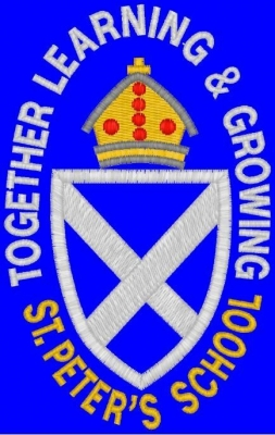 ST PETER'S PRIMARY GALASHIELS FELT BADGE