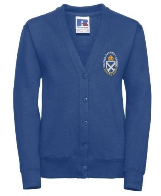 ST PETER'S PRIMARY GALASHIELS CARDIGAN