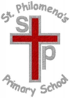 ST PHILOMENAS PRIMARY SCHOOL BLAZER BADGE