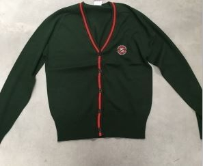 ST THOMAS PRIMARY SCHOOL KNITTED CARDIGAN