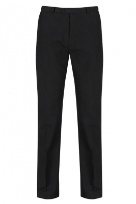 SENIOR BOYS SLIM FIT TROUSER - BLACK