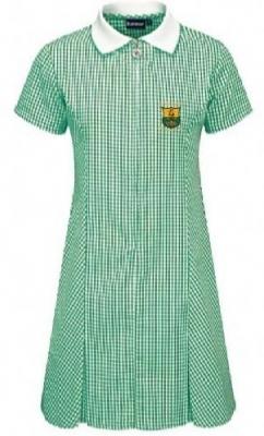 TIREE PRIMARY SCHOOL GINGHAM DRESS