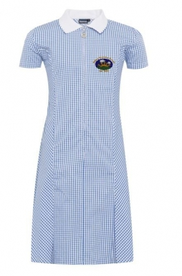 VALLEY PRIMARY GINGHAM DRESS