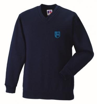 Whitdale Primary School V-Neck Sweatshirt