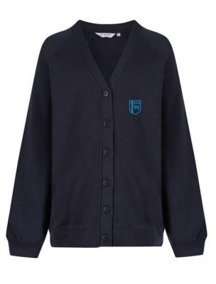 Whitdale Primary School Sweatshirt Cardigan