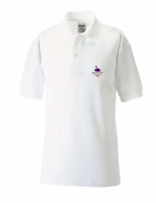 SWANSFIELD PARK BLUEMAX POLOSHIRT (WITH PUPILS NAME)