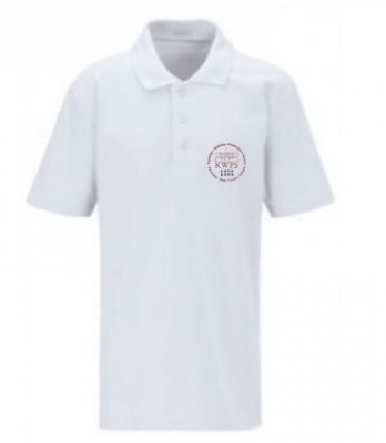 KIRKCALDY WEST SCHOOL POLOSHIRT