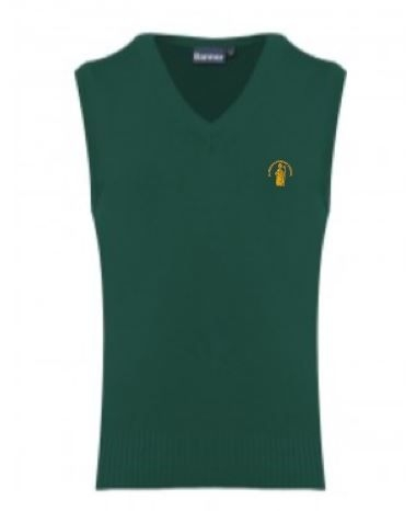 ST NINIANS PRIMARY SCHOOL KNITTED TANKTOP