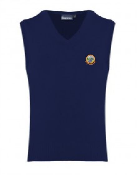 STOW PRIMARY SCHOOL KNITTED TANKTOP