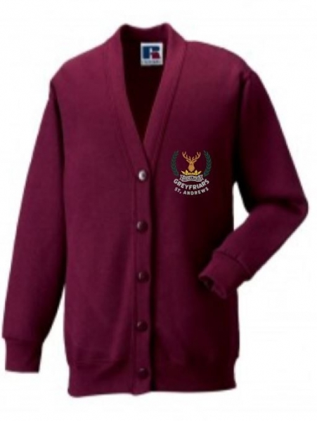GREYFRIARS RC PRIMARY SCHOOL CARDIGAN