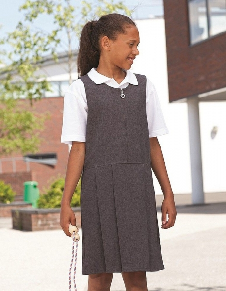 BANNER PLEATED LYNTON PINAFORE