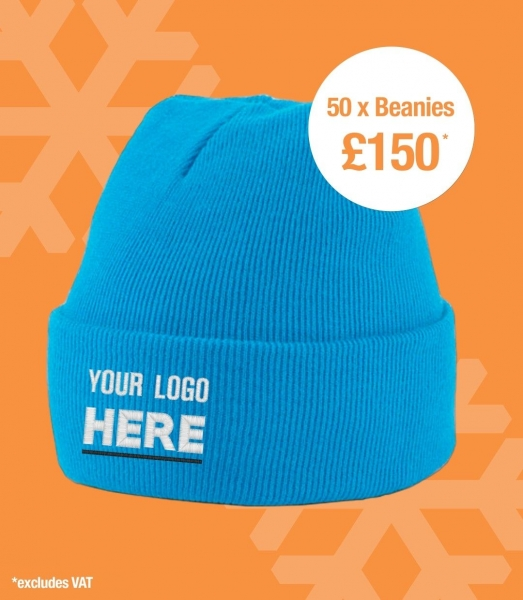 DEAL - BEANIE HAT WITH LOGO