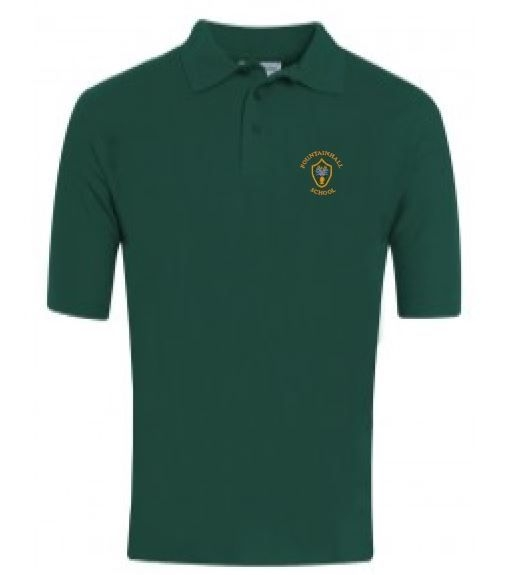 FOUNTAINHALL PRIMARY SCHOOL BLUEMAX POLOSHIRT