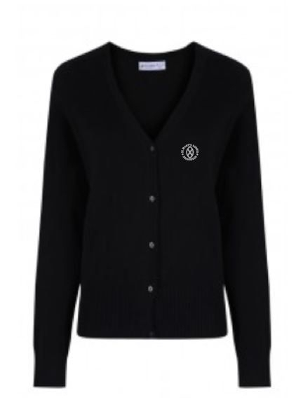 ST MARYS PRIMARY 7 SCHOOL KNITTED CARDIGAN