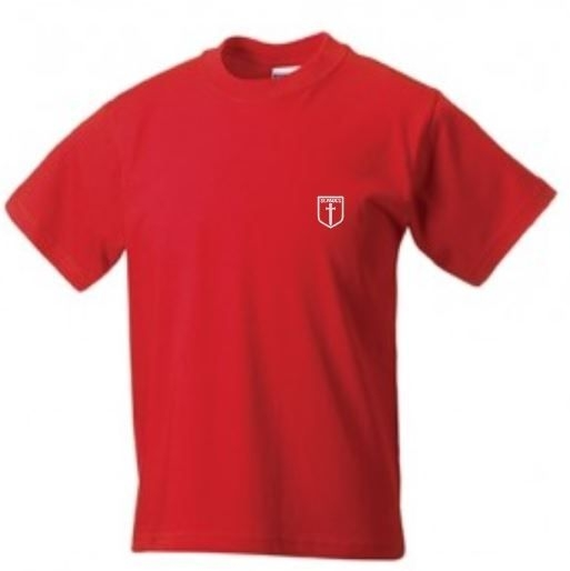 ST PAULS PRIMARY SCHOOL GYM T-SHIRT