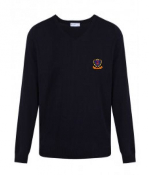 REDWELL PRIMARY SCHOOL KNITTED VNECK