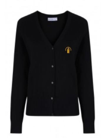ST NINIANS PRIMARY 7 SCHOOL KNITTED CARDIGAN
