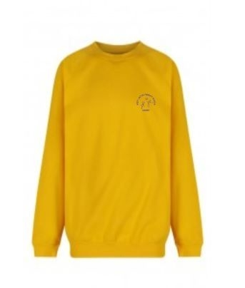 WEST LINTON NURSERY SWEATSHIRT (YELLOW)
