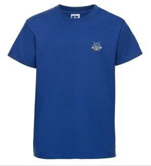 HARROWGATE HILL PRIMARY T-SHIRT - BLUE