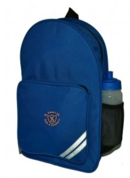 ST XAVIERS PRIMARY SCHOOL INFANT BACKPACK