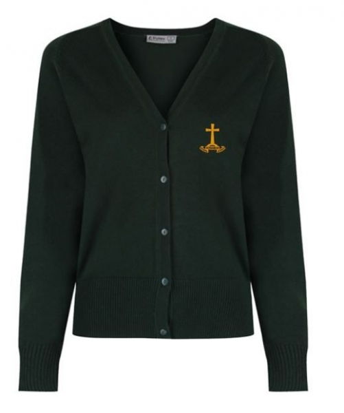 HOLY CROSS PRIMARY SCHOOL KNITTED CARDIGAN