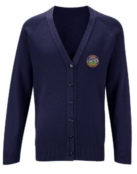 SALINE PRIMARY KNITTED CARDIGAN
