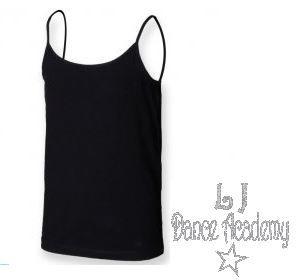 LJ Dance Spaghetti Strap Vest (kids sizes)