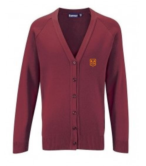 ST MARTHAS PRIMARY SCHOOL KNITTED CARDIGAN