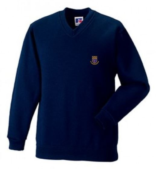 ST JOSEPHS SCHOOL VNECK SWEATSHIRT