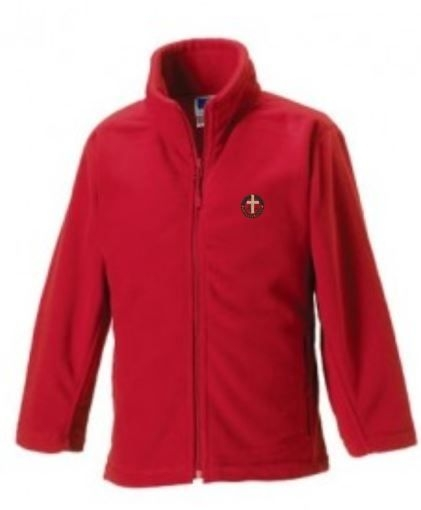 ST SAVIOURS PRIMARY SCHOOL FLEECE JACKET