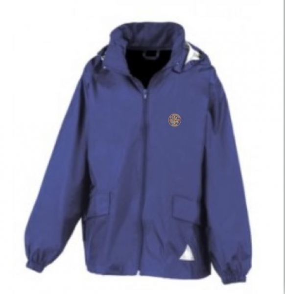ST CUTHBERTS PRIMARY SCHOOL RAIN JACKET