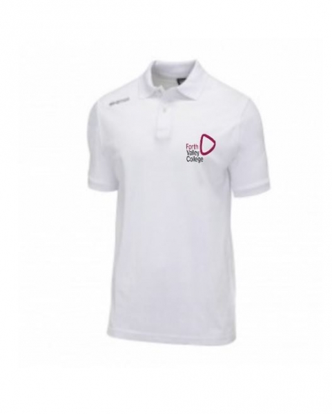 Forth Valley College Errea Team Colours Adult Poloshirt