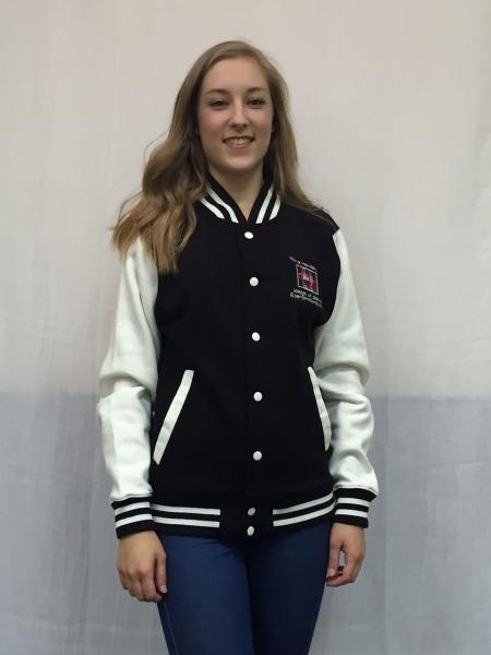 Fiona Henderson School Of Dance Kids Baseball Jacket