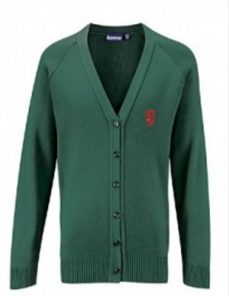 ST PATRICKS PRIMARY SCHOOL KNITTED CARDIGAN