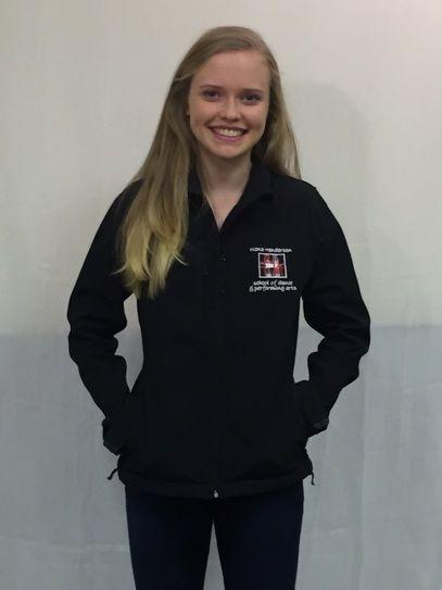 Fiona Henderson School Of Dance Childrens Softshell Jacket