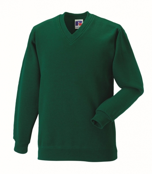 RUSSELL CLASSIC V-NECK SWEATSHIRT