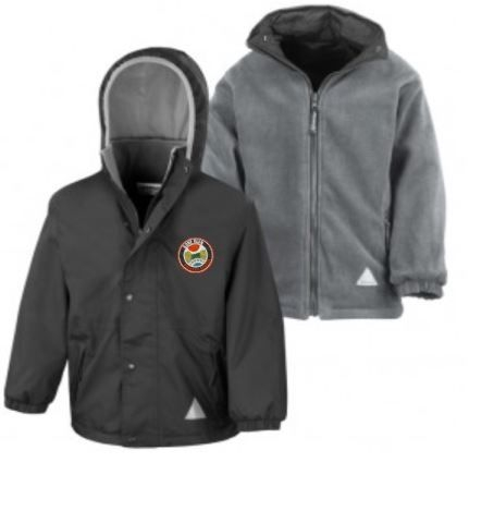 GOREGLEN PRIMARY SCHOOL REVERSIBLE JACKET