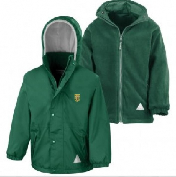 ST BRIDGETS PRIMARY SCHOOL REVERSIBLE JACKET