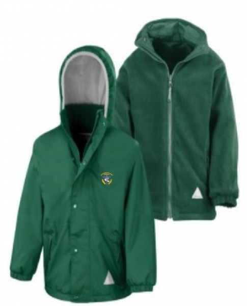 St Francis RC PRIMARY SCHOOL Reversible Jacket With Logo