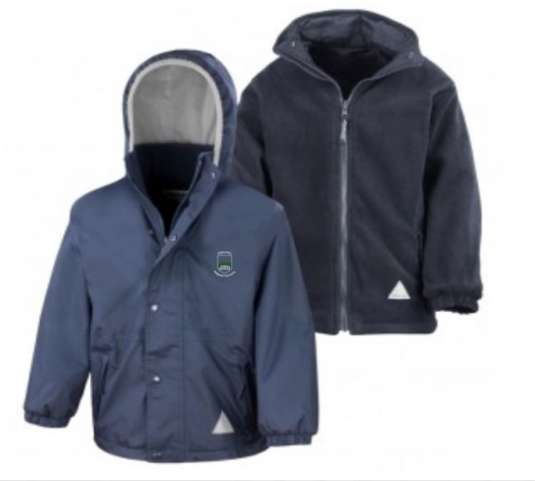 SHIELDHILL PRIMARY SCHOOL REVERSIBLE JACKET