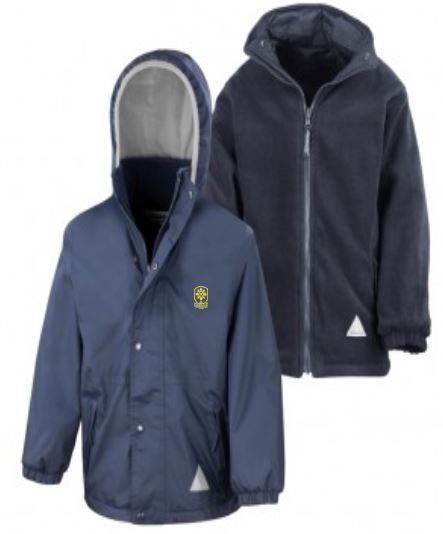 ST MONICAS PRIMARY SCHOOL REVERSIBLE JACKET