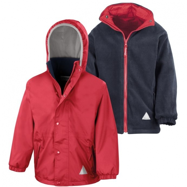 ST ANTHONYS PRIMARY SCHOOL REVERSIBLE JACKET (WITH LOGO)