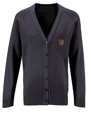 ST BENEDICTS PRIMARY SCHOOL KNITTED CARDIGAN