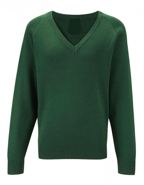 Rowlinson 100% Courtelle Acrylic V-Neck Jumper