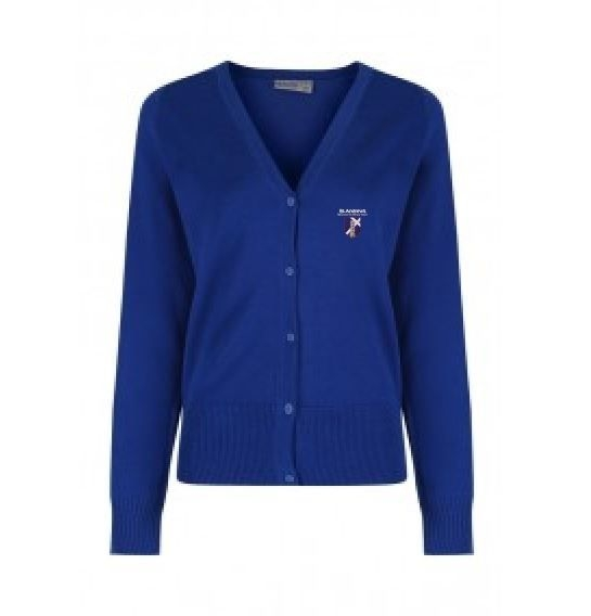 ST ANDREWS FOX COVERT RC PRIMARY SCHOOL KNITTED CARDIGAN