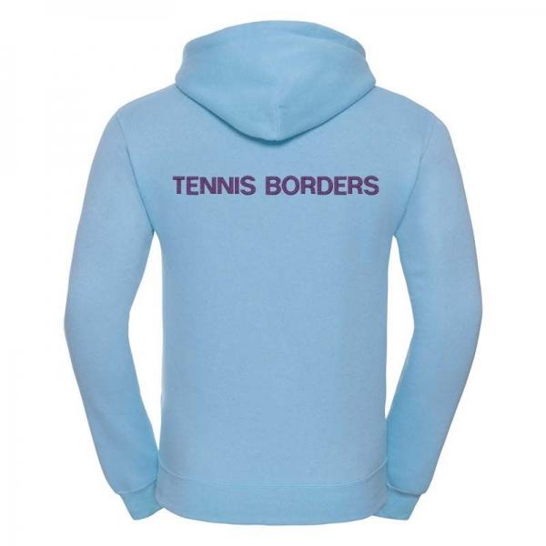 TENNIS BORDERS HOODIE (WITH INDIVIDUAL NAME)