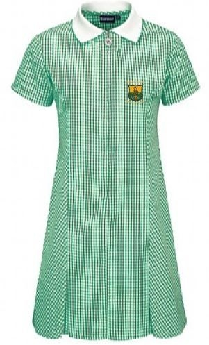 TIREE PRIMARY SCHOOL GINGHAM DRESS